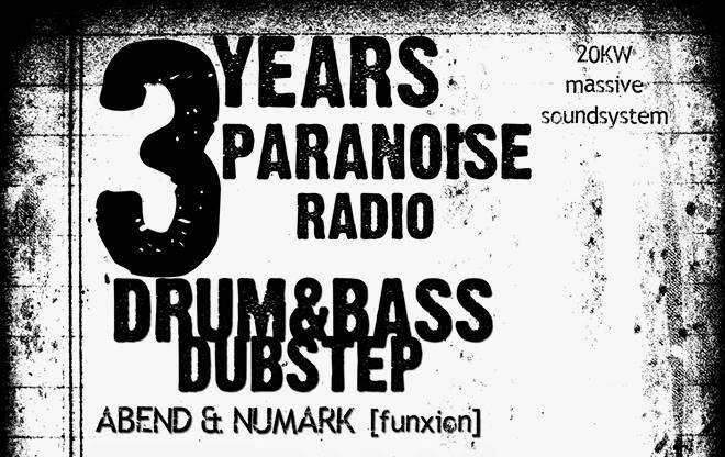 3 Years Paranoise / Drum 'n' Bass & Dubstep Open Air! / we support