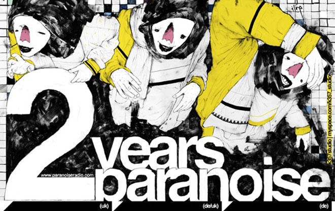 2 Years Paranoise! / 2 stages at Block33 / 40 artists! / we support