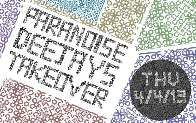 Paranoise Deejays Takeover Favela / we support