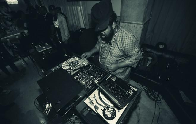 Ras G live in Athens / we support