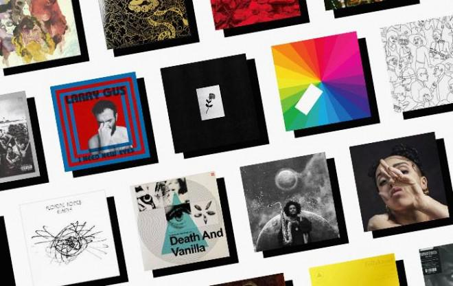 Best Albums of 2015 / various