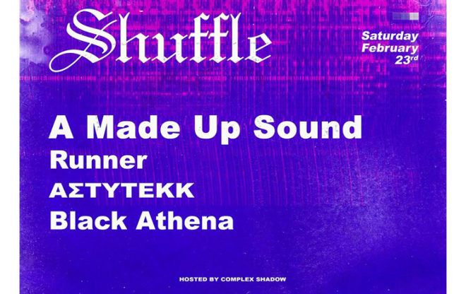 Shuffle w/ A Made Up Sound (NL) / events