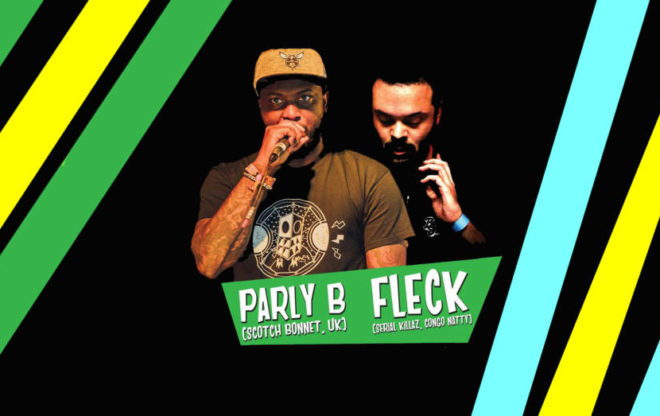Fleck featuring Parly B Tour / events