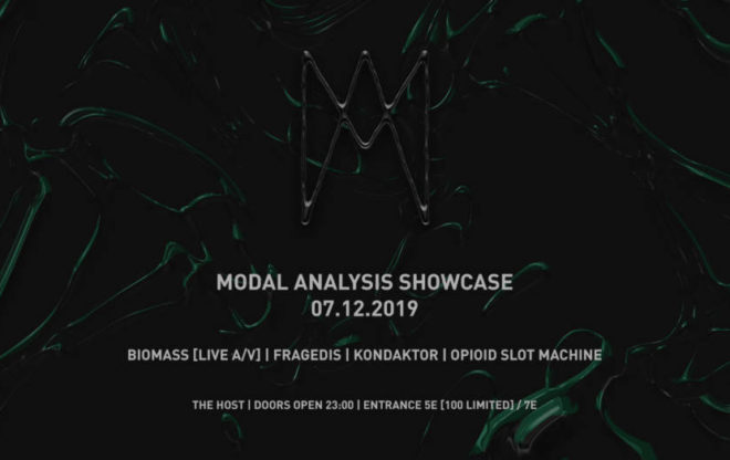 Modal Analysis showcase / we support