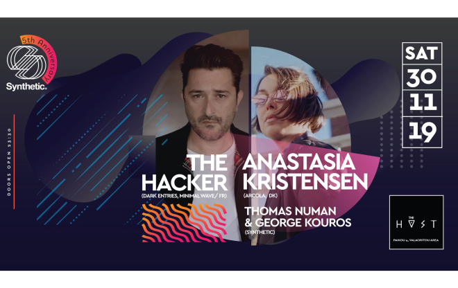 Synthetic w/ Anastasia Kristensen & The Hacker / events