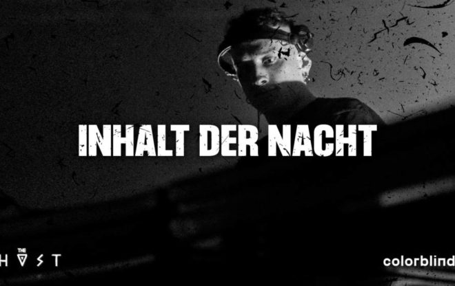 Colorblind with Inhalt der Nacht, Caught In Fact / we support