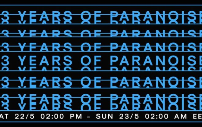 13 Years of Paranoise – Online Bday Streaming / agenda