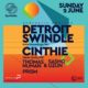 Synthetic rooftop w/ Detroit Swindle & Cinthie